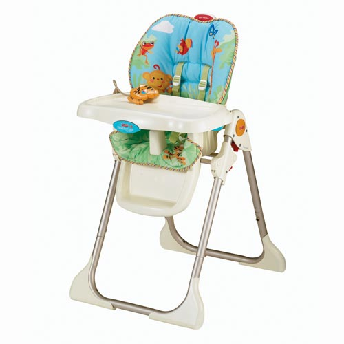Pics photos fisher price rainforest 3 in 1 doll high chair
