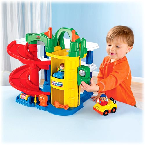 Little People® Racin' Ramps Garage™
