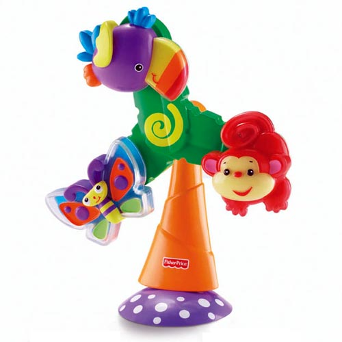 Rainforest Twist Amp Spin Suction Toy