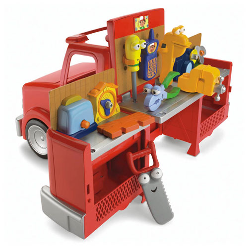 Fisher Price Disney Handy Manny Truck Deluxe Set Free Ebay