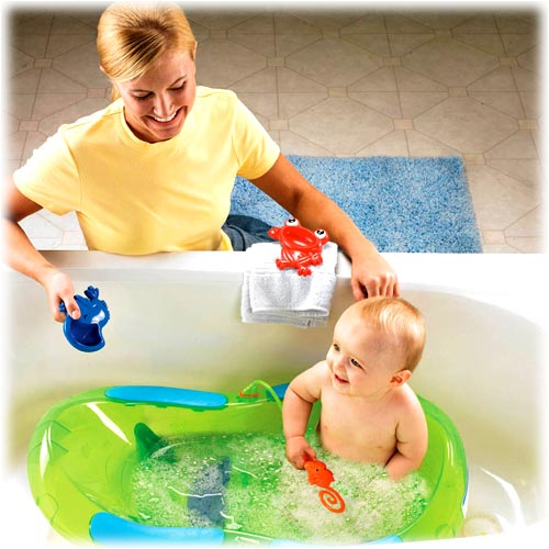new fisher price rainforest bath center baby bath tub ebay. Black Bedroom Furniture Sets. Home Design Ideas