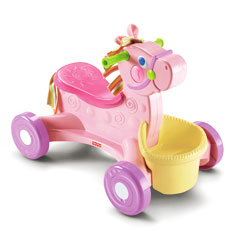 Brilliant Basics™ Roll-Along Musical Pony™