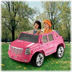 Power Wheels® Barbie™ Cadillac® Escalade™ Custom Edition