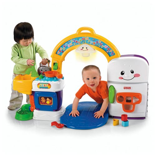 Fisher Price Learning Kitchen: Fisher Price Laugh & Learn Kitchen