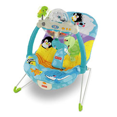 Precious Planet™ Snow Globe & Lights™ Bouncer