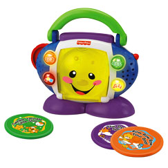 Put-and-take fun, light-up buttons and seven sing-along songs!