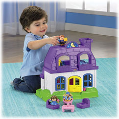 Little People® Happy Sounds Home