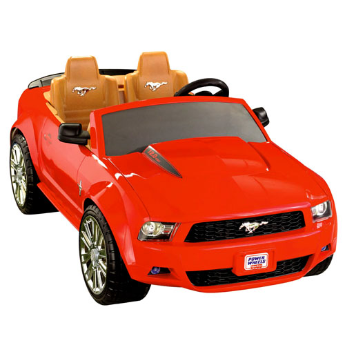 Power wheels fisher price barbie ford mustang weight limit for Fisher price motorized cars