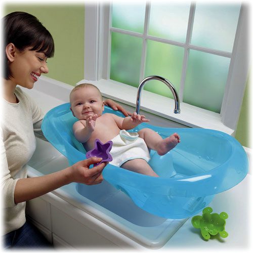 new fisher price ocean aquarium baby bath tubs center ebay. Black Bedroom Furniture Sets. Home Design Ideas