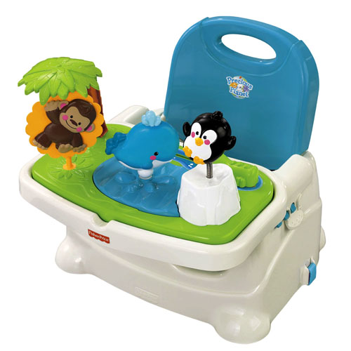 Fisher Price Precious Planet Baby Feeding Chair Booster