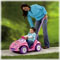 Parent-assist handle lets you control steering until your child is ready to steer on her own.