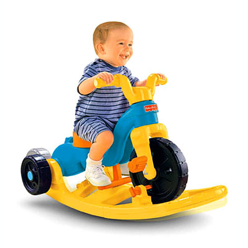 Toddler Toys For Boys : Rock roll n ride trike™