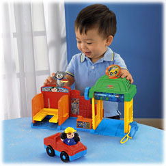 Little People Spin n Sparkle Car Wash - Fisher-Price Online Toy Store