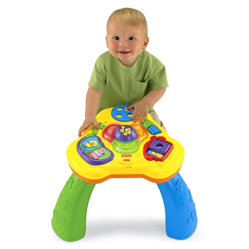 Lights sounds activity table - Table activite fisher price ...