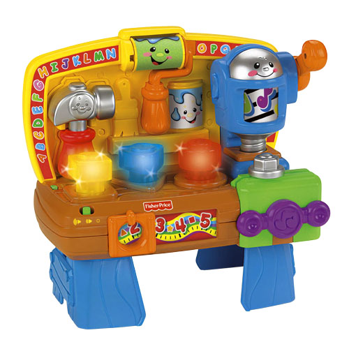 Laugh learn learning workbench Fisher price tool bench