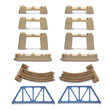 Thomas & friends™ trackmaster™ bridge expansion track pack