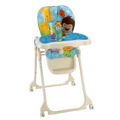 Precious Planet Blue Sky High Chair