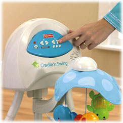 fisher price cradle n swing assembly instructions