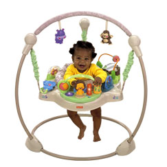 Precious Planet Khaki Sands Jumperoo