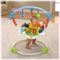 Spinning seat lets baby easily explore all activities all around!