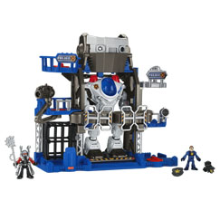Imaginext® Robot Police Headquarters