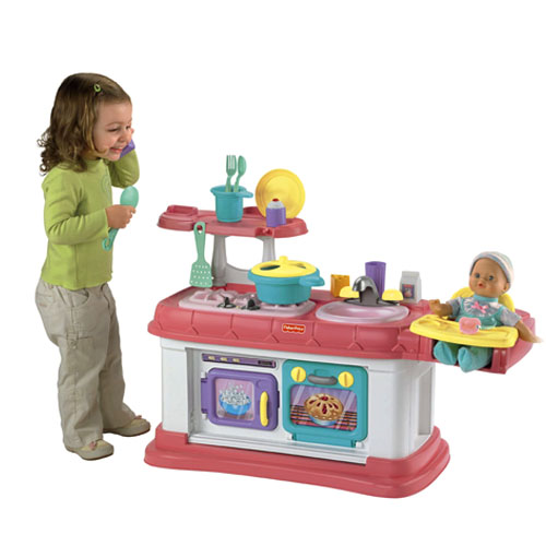 fisher price kitchen grow with me