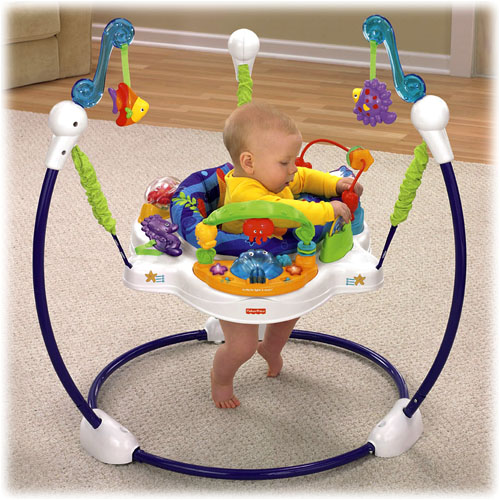 Fisher Price Jumperoo Go Wild | All About Fish