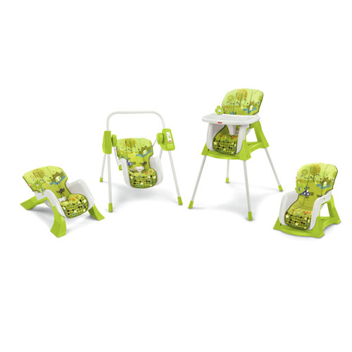 Fisher-price Green 4 In 1 Baby Chair
