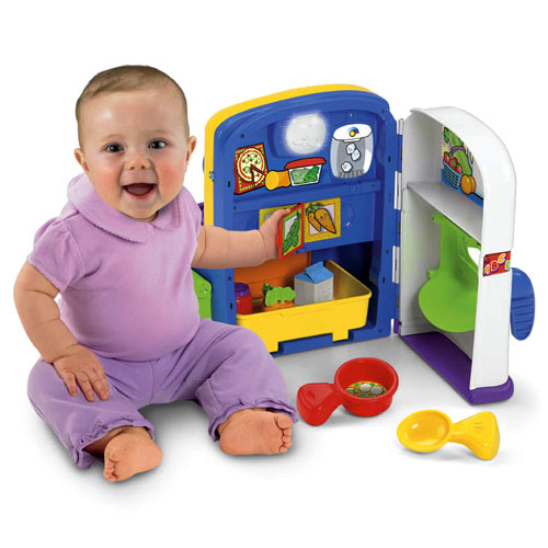 Fisher Price Learning Kitchen: Object Moved