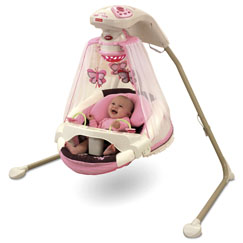 Butterfly Cradle 'n Swing - Mocha Butterfly