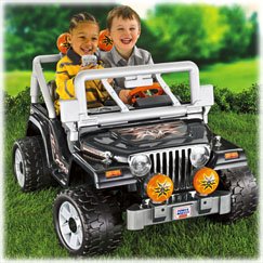 Power Wheels® Tough Talking Jeep ® Wrangler