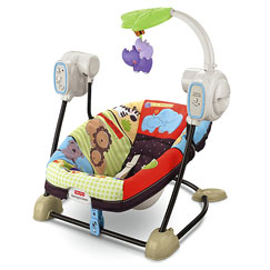 Luv U Zoo™ SpaceSaver Swing & Seat