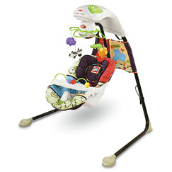 Luv U Zoo™ Cradle 'n Swing