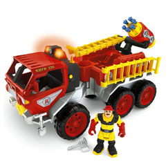 Rescue Heroes® Fire Truck with Billy Blazes™