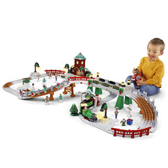 GeoTrax Christmas in ToyTown RC Set