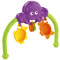 Two character cups, clackers and an octopus buddy make bathtime fun! Toybar removes for easy access to baby.