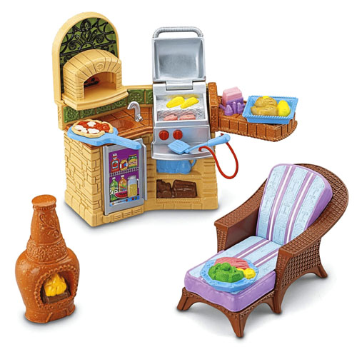 Fisher LOVING FAMILY GRAND DOLLHOUSE SUPER SET MEGA
