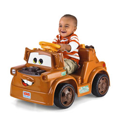 Power wheels fisher price ride on disney pixar cars 2 lil for Fisher price motorized cars