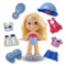 Each doll comes with a variety of outfits to mix, match, or share with a friend!