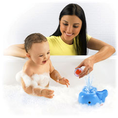 Brilliant Basics™ Spray 'n Lights Bath Whale