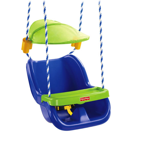New Fisher Price Infant To Toddler Sunshield Swing W