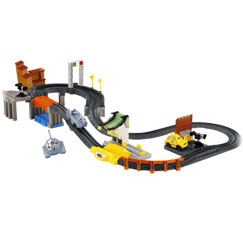 GeoTrax®: Disney•Pixar Cars 2 World Grand Prix RC Set