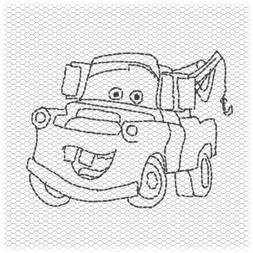 Free Coloring Pages Of Disney Cars Mater