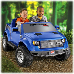 Power Wheels® Ford F-150 SVT Raptor (Blue)