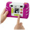 "1.4"" color screen lets kids see pictures they've taken—instantly!"