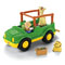 Includes Safari Truck & driver, Zoo Talkers Giraffe and Lion Cub figures and food bin. Everything stores inside!