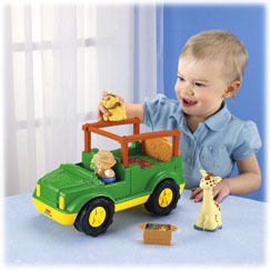Little People® Zoo Talkers™ Animal Sounds Safari Truck