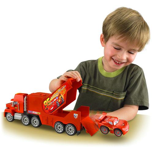 Imaginext disney•pixar cars mack hauler lightning mcqueen