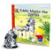 "Includes zebra figure and ""Eddie Meets the Zebras"" book."