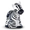 Bring the zebra to the Animal Sounds Zoo—it's the only place you'll hear his name and the sounds he makes too!